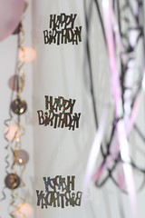 Hanging Decorations (haberlea) Tags: home birthday decorations hanging happybirthday