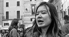Women, they will come and they will go. (Baz 120) Tags: candid candidstreet candidportrait city candidface candidphotography contrast street streetphoto streetphotography streetcandid streetportrait sony a7 fullframe rome roma romestreets europe women monochrome mono monotone noiretblanc bw blackandwhite urban life primelens portrait people pentax20mm28 italy italia grittystreetphotography faces decisivemoment strangers