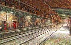 Estación de Pasajes - Gipuzkoa (Antonio-González) Tags: estación tren nevada pasaia pasajes angovi temporal