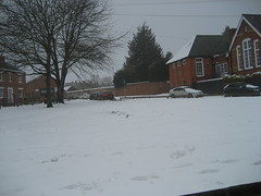 TOWCESTER IN THE SNOW 2018 (smtfhw) Tags: towcester 2018 britain northamptonshire home sightseeing snow