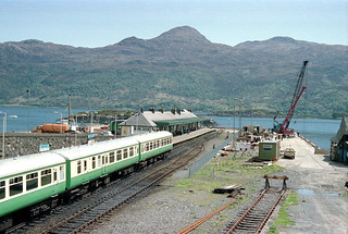 Kyle of Lochalsh station (3), 1989