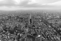 View of Taipei from Taipei 101