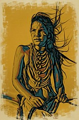 Native American Boy (Bob Smerecki) Tags: smackman snapnpiks robert bob smerecki sports art digital artwork paintings illustrations graphics oils pastels pencil sketchings drawings virtual painter 6 watercolors smart photo editor colorization akvis sketch drawing concept designs gmx photopainter 28 draw hollywood walk fame high contrast images movie stars signatures autographs portraits people celebrities vintage today metamorphasis 002 abstract melting canvas baseball cards picture collage jixipix fauvism infrared photography colors negative color palette seeds university michigan football ncaa mosaic