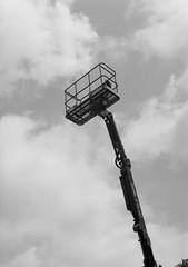 Cherry Picker (slightheadache) Tags: analog brooklyn film halfframe nyc newyork olympus olympuspend tmax