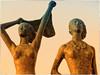 Bathing beauties (Heinze Detlef) Tags: skulpturen ostsee fehmarn urlaub urlauber schönheiten ausstellung