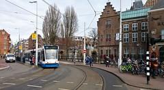 Naweeën (Peter ( phonepics only) Eijkman) Tags: amsterdam city combino gvb detour omleiding tram transport trams tramtracks trolley rail rails strassenbahn streetcars nederland netherlands nederlandse holland noordholland