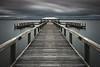 Melbourne Skies (andrew_v) Tags: florida usa landscapephotography beach coast melbournebeach floridalandscapephotography pier longexposure stormy melbournebeachpier slowshutter