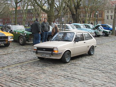 Ford Fiesta 1.0 Popular Plus APG677Y (Andrew 2.8i) Tags: queen queens square bristol breakfast club show meet car cars classic classics drivers ford fiesta mark 1 mk mk1 hatch hatchback