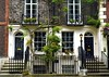 Elegant Entrance (Jocelyn777) Tags: fence doors windows doorsandwindows steps trees foliage buildings architecture brick facade richmond london england