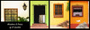 windows & doors of el quelite - pt 1 (rockinmonique) Tags: mexico elquelie sinaloa travel doors window collage colour vibrant collection moniquew canon canont6s tamron tamron45mm copyright2018moniquewphotography
