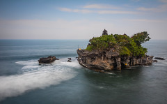 Tanah Lot temple in Bali, Indonesia (phuong.sg@gmail.com) Tags: architecture asia bali balinese beautiful buddhism building clouds culture exotic green hindu historical history holidays holly indian indonesia island jakarta java landmark landscape lombok lot nature ocean old oriental peaceful picture religion religious scenic sky sunset tanah temple tourist touristic traditional traditions travel tropical tropics vacation water