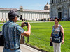 Snap #062 (Peter.Bartlett) Tags: woman hat man urban tourists candid streetphotography m43 couple camera city olympuspenf peterbartlett people microfourthirds bag pisa toscana italy it