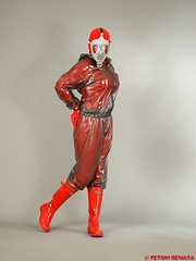 PUL_TTB_A61xB5C_HL_07 (fetish.renata) Tags: rainwear rainsuit pvc shiny wellies transparentblackthickpvc rubberboots gasmask pvculike evercreaturesgloss pláštěnky holínky