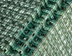 20180312_7th AVE. SUBWAY_BFF_8086 (Bonnie Forman-Franco) Tags: green building vertigo glass windowns skyscraper queens newyorkborough nonhdr color