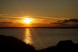 Sunset on Lindisfarne