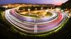 Light trail (Y.P. Jhou) Tags: 三鶯二橋 台灣 新北市 風景 夜景 車軌 北部 landscape taiwan 藍調 bluehour lighttrail traffic dusk cityscape urban 城市
