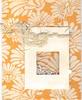 Orange and White Card (booboo_babies) Tags: orange white flowers shaker handmade