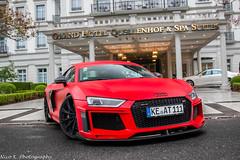 ABT R8 V10 2015 (Nico K. Photography) Tags: audi abt r8 v10 plus 2015 red matte 1of1 supercars rain photoshooting nicokphotography switzerland badragaz