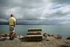 A Step Too Far (Jocey K) Tags: newzealand nikond750 southisland moeraki steps rocks seascape sea water people sky clouds