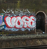 Trackside London (cocabeenslinky) Tags: trackside london streetart graffiti south city capital england united kingdom uk street art artist artiste graf graff urban photos photography canon powershot g15 power shot ©cocabeenslinky 2018 train track walls vope 10 foot 10foot