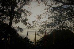 SUNRISE (PINOY PHOTOGRAPHER) Tags: balayan picture sunrise sun trees photography art flickr luzon philippines batangas asia world color pov framing