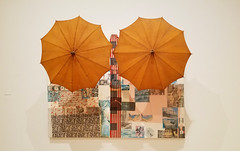 Robert Rauschenberg - Untitled (Spread), 1983 (battyward) Tags: art modern sfmoma museum rauschenberg spread umbrella mixedmedia sf sanfrancisco