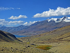 Adieu !! (Lopamudra !) Tags: lopamudra lopamudrabarman lopa landscape lake ladakh loch plateau water waterscape clouds cloud sky skyscape mountain mountains peace peak peaks himalaya himalayas highaltitude highland highaltitudelake range colour color colours colourful cold nature tranquil placid jk india blue azure beauty beautiful picturesque