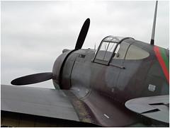 Curtiss H-75A-1 (Aerofossile2012) Tags: curtiss p36 h75 hawk avion warbird aircraft aviation meeting airshow laferté 2016 arméedelair