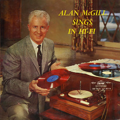 Alan McGill Sings In Hi-Fi (Jim Ed Blanchard) Tags: god religion religious christian lp album record vintage cover sleeve jacket vinyl private pressing weird funny strange kooky ugly thrift store novelty kitsch awkward alan mcgill red