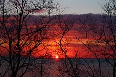 sunrise of the day bastia (delph.) Tags: sunrise corsica leverdesoleil sky clouds