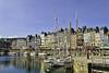 Honfleur Harbour, Honfleur France. (dc2photo) Tags: bassenormandie france honfleur boats harbor harbour maritime moorings portfolio sailing top25