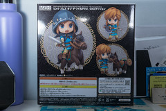 DSC_7726 (Quantum Stalker) Tags: nintendo breath wild switch link figure nendoroid deluxe dx weapons sheikah slate accesories bow arrow axe hood