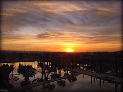 Waterpark (peavy30) Tags: zaragoza atardecer landscape parque del agua riada ebro cielo sky