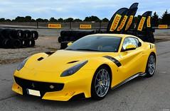 Ferrari F12 TDF /  V12 6.262cc / 780 CV 8500  rpm (Renzopaso) Tags: ferrari f12 tdf v12 6262cc 780 cv 8500 rpm circuitodecalafat lametllademar circuito calafat lametlla mar tarragona ferrarif12tdf v126262cc 780cv8500rpm auto car coche ferrarif12 sportcar supercar cars voitures fahrzeuge automobili автомобили السيارات 車 autos coches автомоб club de españa pirelli