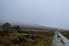 The invisible mountain Slievemore (Nelleke C) Tags: 2017 achillisland countymayo keel slievemore desertedvillage holiday ierland ireland vakantie