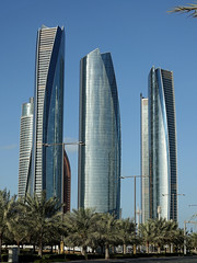 skyscrapers (geneward2) Tags: abu dhabi uae skyscrapers buildings architecture