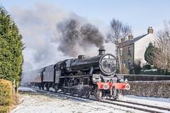 Leander (ChromaphotoUK) Tags: elr eastlancsrailway steam train engine loco locomotive heritage railway springgala nikon d610 leander jubilee 5xp lms