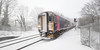 Snow Rush (Andrew Hocking Photography) Tags: penryn train station beastfromtheeast stormemma cold winter snow cornwall landscape snowscape whiteout gb uk blizzard gwr greatwesternrail firstgreatwestern