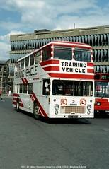 West Yorkshire 4084 840801 Keighley [jg] (maljoe) Tags: westyorkshire westyorkshireroadcar nationalbuscompany nbc bristol vrt bristolvrt ecw easterncoachworks drivertrainer
