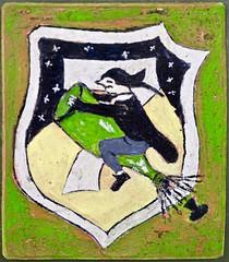 Ride the Rocket (@WineAlchemy1) Tags: shuttleworthcollection bedfordshire uk messerschmittkometme163b1a rocket aeroplane decal pilot champagne cork german wonderweapons interceptorfighter sommelier worldwarii wunderwaffe painting technology