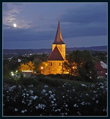 ¤ Weinsberg - Johanneskirche | GERMANY (b.e.r.n.d.) Tags: weinsberg 2009 nightshot 2000views ys10popularity favoritsbernd panoramio321461026514147