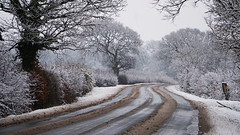 After the snow had turned to slush (nickcoates74) Tags: 55210mm a6300 chorley e55210mmf4563oss eccleston ilce6300 lancashire march newlane sel55210 snow sony winter uk