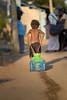 House Hold Chores (Yesmk Photography) Tags: children boy streetphotography tirunelveli muthukumar yesmkphotography d750 iamnikon india indian water pulling pot tray