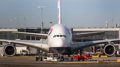 G-XLEF (tynophotography) Tags: british airways a380 gxlef a388 a380800 airbus egll heathrow