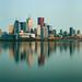Downtown Toronto Skyline At Dawn 2