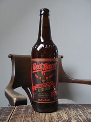 Red Racer Lucky Dog (knightbefore_99) Tags: beer cerveza pivo local hops malt craft bc bottle redracer luckydog new year chinese west coast cool red rouge label