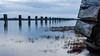 Steveston (Sworldguy) Tags: steveston richmond piling driftwood waterfront cloudy longexposure britishcolumbia bc sand landscape dusk nikon d7000 westcoast fraserriver