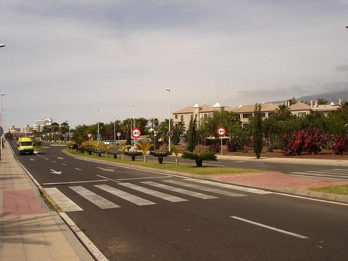 Дорога в Playa de Las Americas