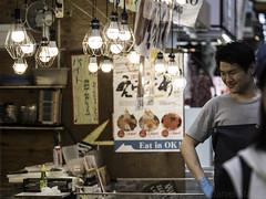 Kuromon Ichiba (Norse_Ninja) Tags: japan2017 osaka kuromon markets food stalls street journeyjd17 travel traveller travellingviking