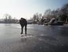 Chop (Arne Kuilman) Tags: fujifilm superia iso200 6x45 mediumformat amsterdam nederland netherlands gs645w diving duiken newlakedivers ice icediving duikers divers wak blowhole